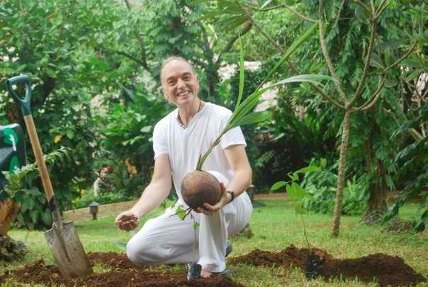 Dieter Schrottmann, founder of The Treetment Project